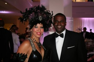 The Lady and Mayor Kasim Reed